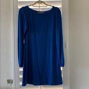 TART blue long sleeve dress size small